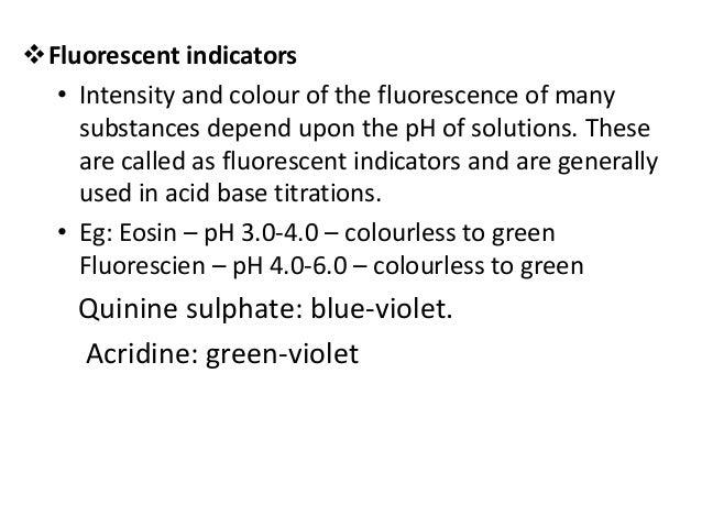 EX 2. Fluorimetric Drug Analysis • Many drugs possess high quantum efficiency for fluorescence. For example, quinine can b...