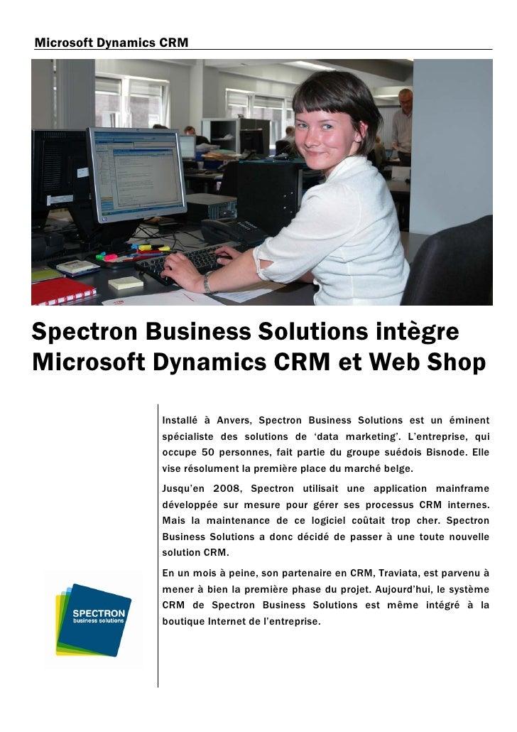 Spectron case story mscrm fr