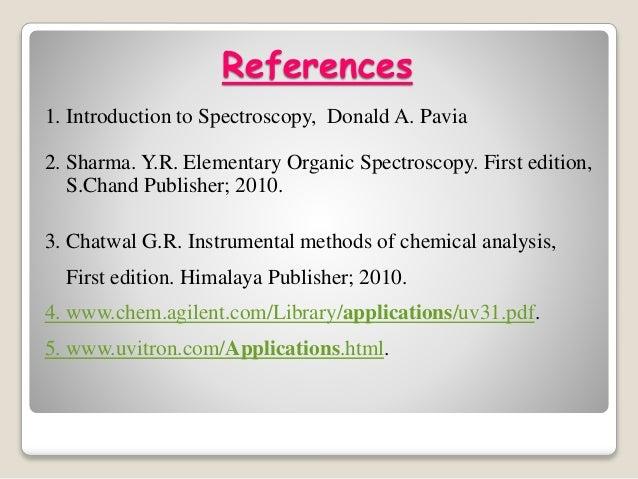 Introduction To Spectroscopy Pdf