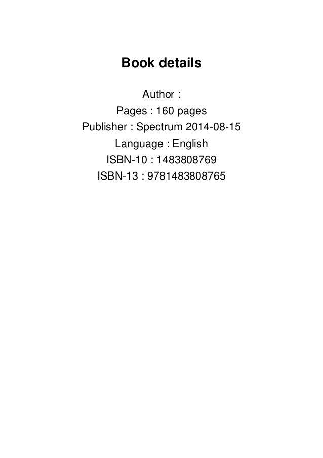 Spectrum Math Workbook, Grade 8 [PDF]