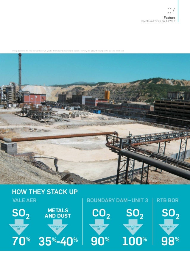 The upgrades to the RTB Bor complex will yield a dramatic improvement in copper recovery and allow the complex to use less...