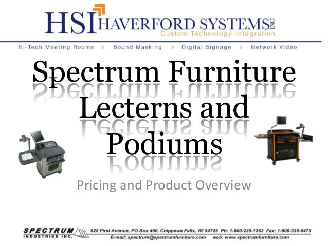 Spectrum Furniture Lecterns - Spectrum furniture