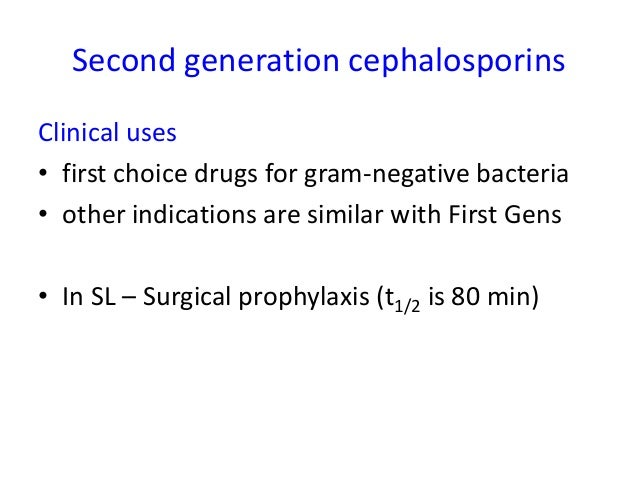 """New Cephalosporins• Classified as """"Fifth Generation""""• Ceftibiprole and Ceftibuten"""