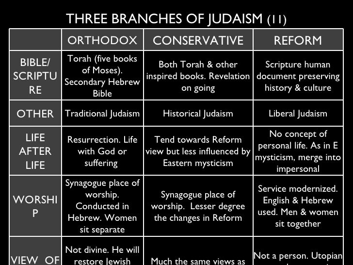 an overview of modern orthodox judaism Even if it is too late to influence kushner, modern orthodox leaders still can work to ensure that they do not produce more like him in the years to come obviously, not all modern orthodox jews .