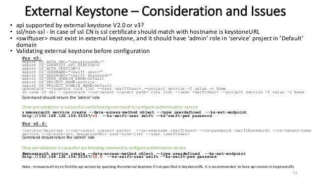 IBM Spectrum Scale Authentication For Object - Deep Dive