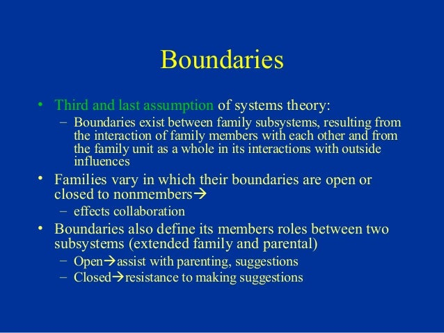 Extended family and boundaries in dating 9