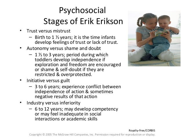 an argument in favor of eriksons theory of psychosocial development But erikson does not totally rule out this argument he suggests that  erikson's  psychosocial theory of development: young adults essay.
