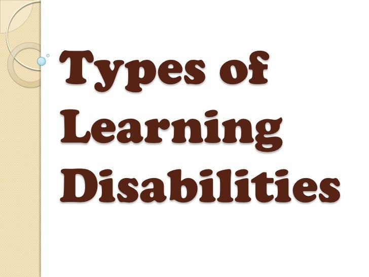 an analysis of the term of learning disability Learning disability documentation guidelines learning disabilities is a general term which refers to a heterogeneous group of disorders manifested by significant difficulties in the acquisition and use of listening, speaking, reading, writing, reasoning.