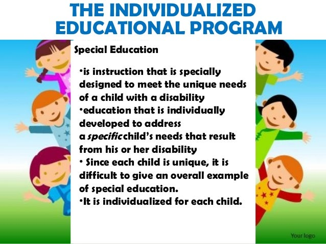 each child is unique and special