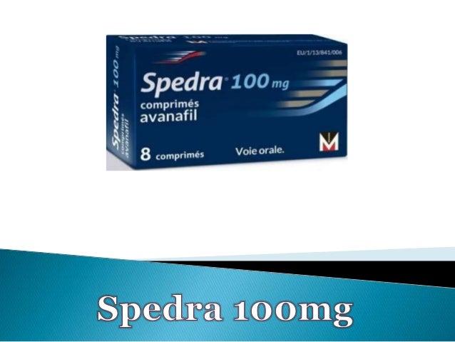  Spedra 100mg est le nom commercial de l'avanafil, une substance utilisée pour traiter les cas d'impuissance sexuelle lié...