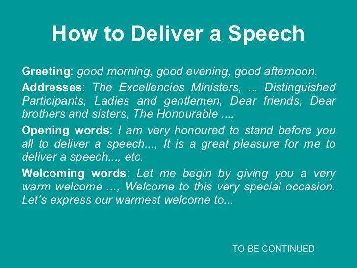 Speech opening an occasion 5 m4hsunfo