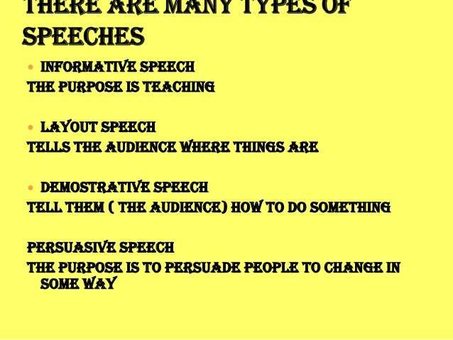 demostrative speech Demonstration speech tips oral communications how to incorporating necessary movement into speech making helps to increase interest watching someone.