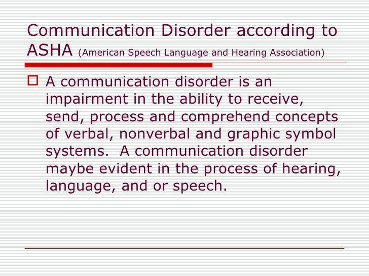 voice disorders in child communication Speech disorders - children disfluency communication disorder - speech hearing loss as a cause of the speech disorder treatment children may outgrow milder.