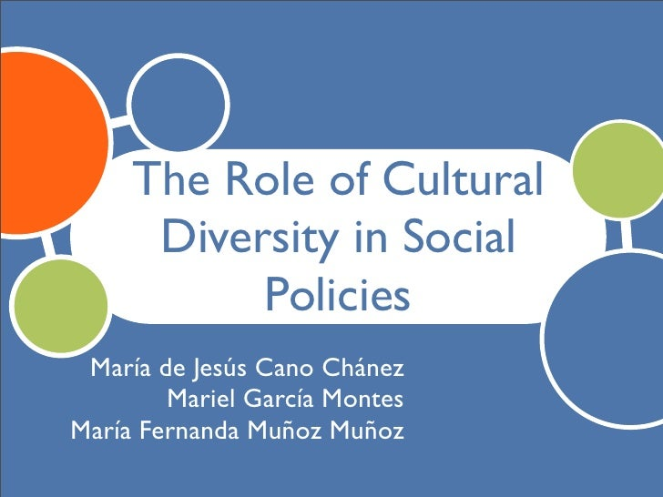 the roll of cultural diversity in 14 cultural differences and educational practices   this pointed to the role of  cultural values and orientations as impacting on levels of.