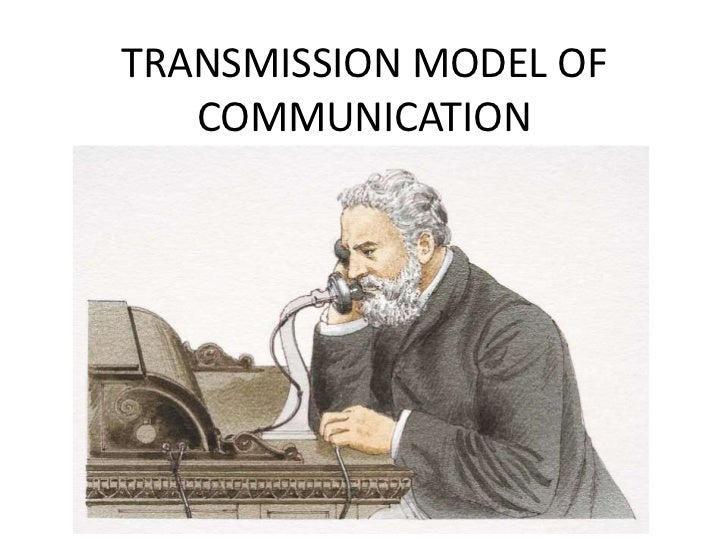 TRANSMISSION MODEL OF   COMMUNICATION