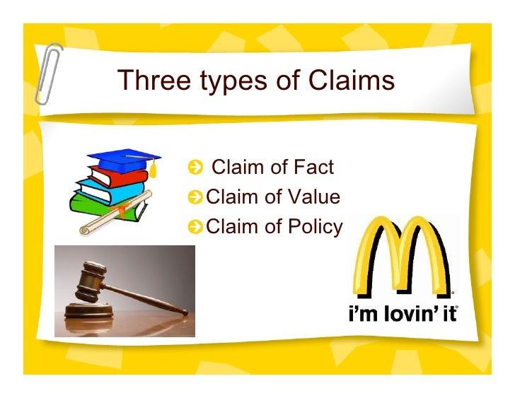 claim of fact examples