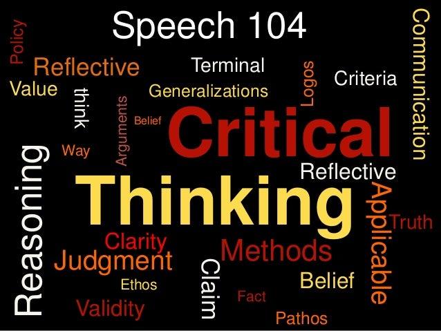 CommunicationPolicy                      Speech 104         Reflective                         Terminal                   ...
