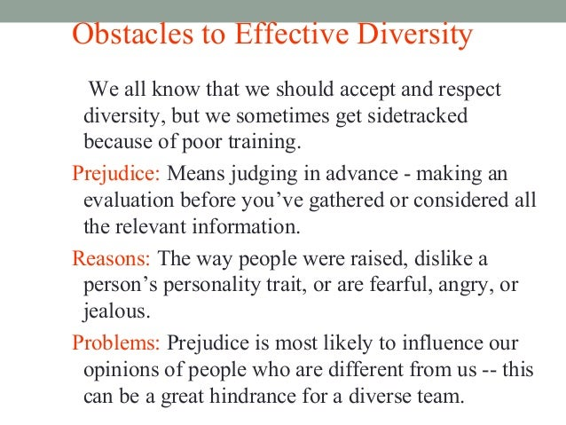 what characteristics make diversity training most effective Use this valuable step-by-step guide to find out why and how you can build an effective diversity strategy in the workplace.