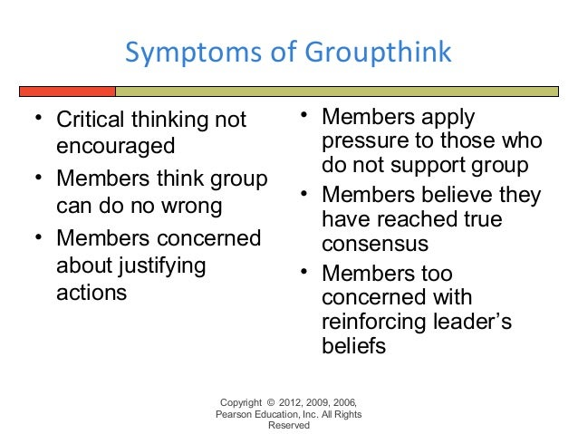 A brief history of groupthink