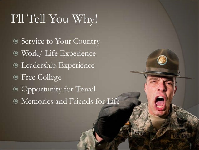 Speech #2 why join military