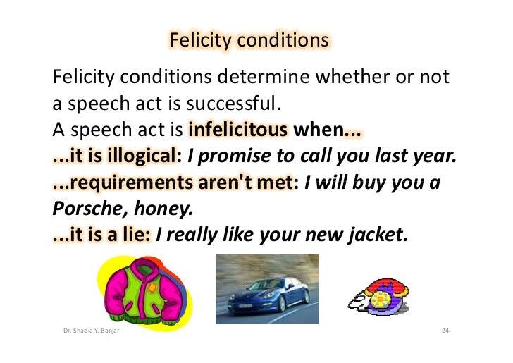Superior Felicity Conditions ...