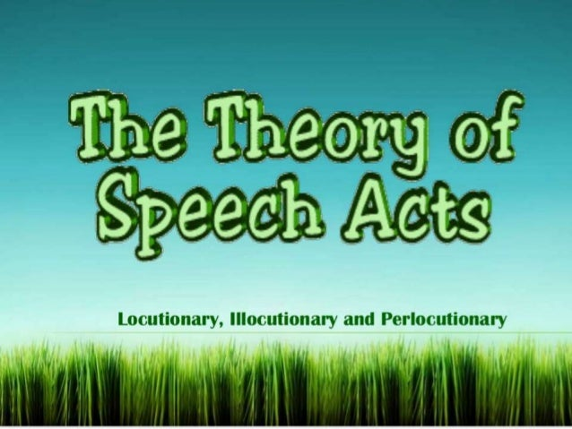 function of speech acts The role of a speech-language pathologist speech-language pathologist: provide services that help restore function, improve mobility and act as advocates for psychology special education teachers: work with children and youths who have a variety of disabilities.