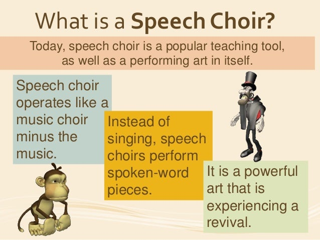 Speech Choir