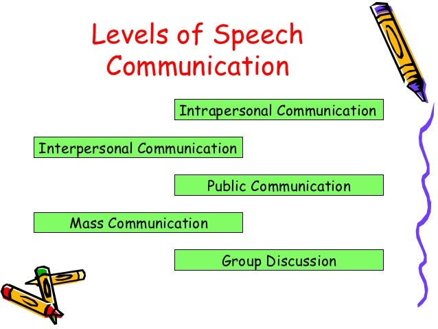 speech communication Speech communication is the study of how and why people communicate in addition to the pre-major courses required to enter the program and those required by the global miami plan, students study communication theory and research and concentrate on courses related to their area of specialization.