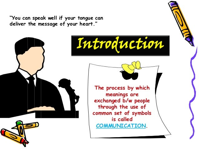 thesis in speech communication Communication plays an important role in the development of a nation it is an integral part of development societies cannot change and develop without communication, as it is a process of.