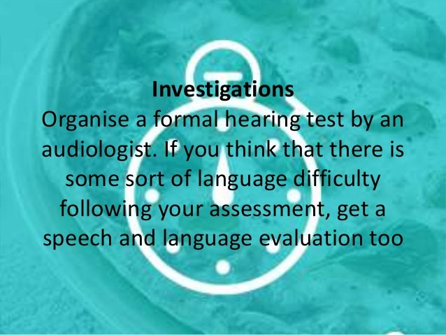 language development and the surrounding issues Brief summary of language and speech development communication options overview: ways to communicate with a child with hearing loss describes what communication choices or communication options means and provides a short summary and resource links.