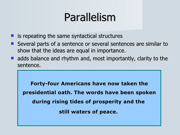 what is a parallel antithesis sentence Antithesis in a sentence yahoo a rhetorical device in which two opposite ideas are put together in a sentence parallel what is a parallel antithesis sentence.