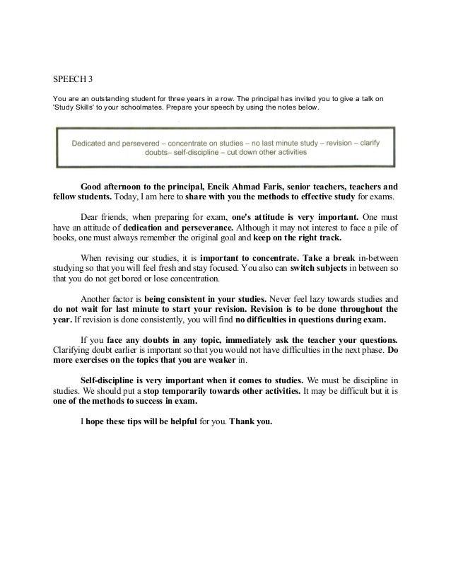 sample essay pmr dialogue