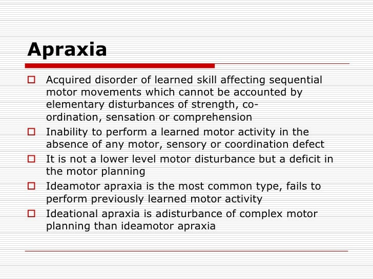 Speech language and aphasia for Motor planning disorder symptoms