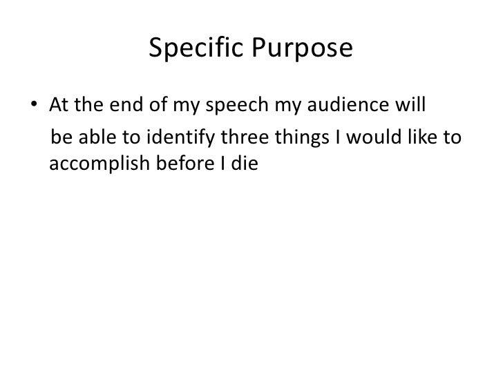 persuasive speech outline self acceptance