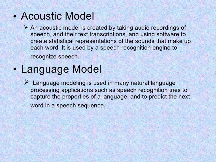 speech processing ppt