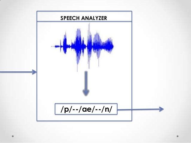 SPEECH ANALYZER  /p/--/ae/--/n/