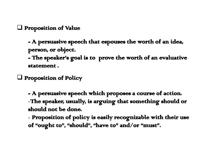 Strc 1111 speech 5 proposition of policy (problem-solution.