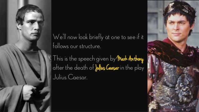 speech of mark anthony