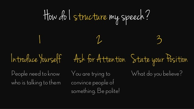 how to write a funny speech about yourself