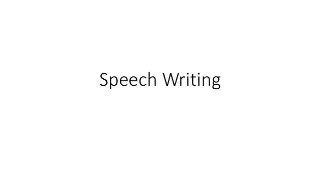 Speech Writing