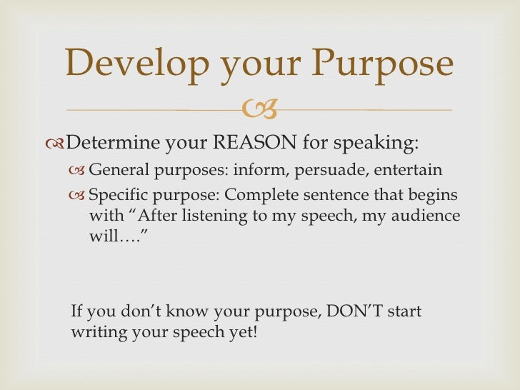 speech writing introduction and conclusion introduction and conclusion 2 develop your purpose