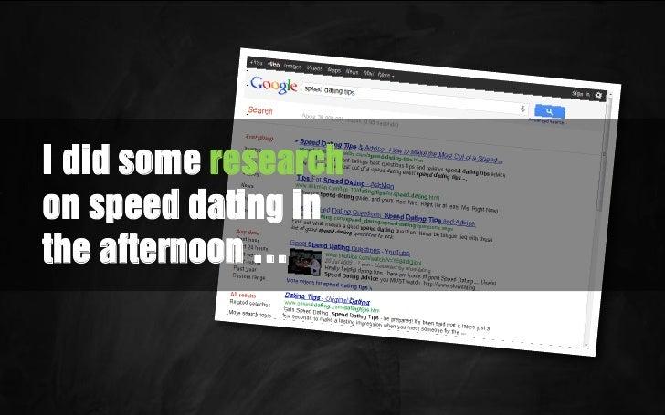 Business speed dating munchen