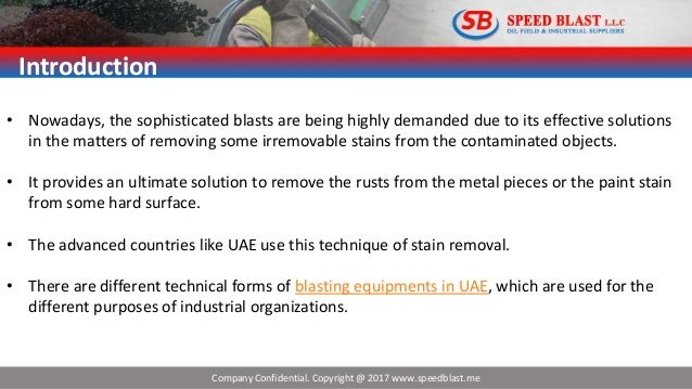 Different Forms and Methods Of The Blasting Equipments