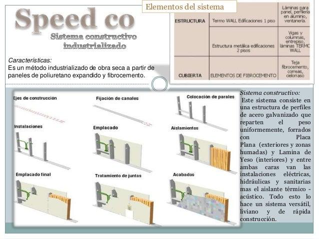 Características: Es un método industrializado de obra seca a partir de paneles de poliuretano expandido y fibrocemento. El...