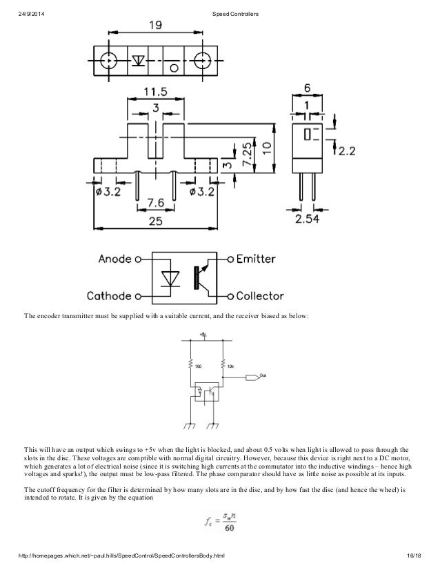 Motor Speed controllers