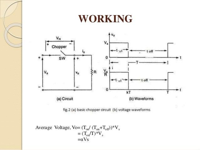 Dc Chopper Circuit Diagram | Speed Control Of Dc Motor Using Chopper