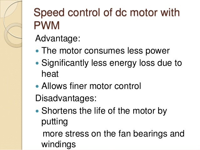 Brushless dc motor advantages and disadvantages for Advantages of ac motor