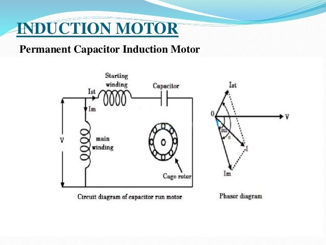 Wiring Diagram Single Phase Induction Motor : Single phase induction motor speed control circuit diagram