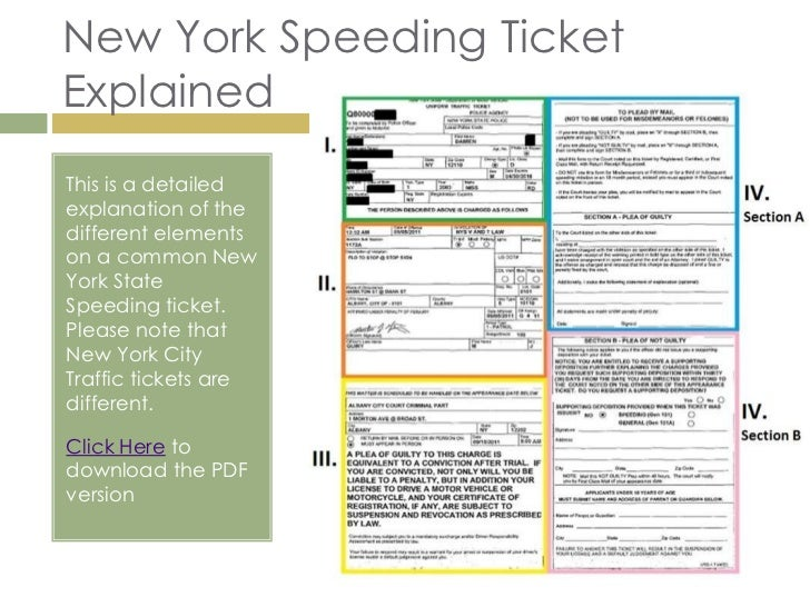 new york speeding ticket information. Black Bedroom Furniture Sets. Home Design Ideas