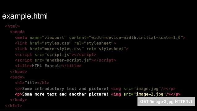 "Load remaining JavaScript late as possible  !  .  .  .  !  <script src=""restofscript.js""></script>  !  </body>  </html> On..."